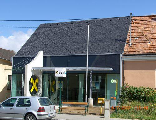 Dachsanierung Raika Bockfließ